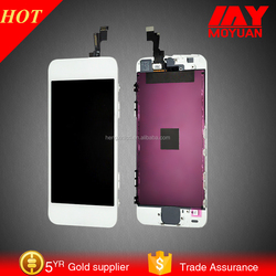hot sale 2015 for Apple iphone 5c 32gb 64gb unlocked LCD oem digitizer lcd screen for iphone 5c lcd