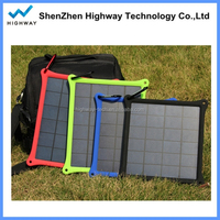 Superior Quality HIGHWAY Solar Mobile Charger HWSP003 Solar Panel 4w Solar Power system for Laptop / Phone