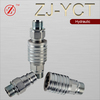 ZJ-YCT pull & push type hydraulic quick couplers and nipples