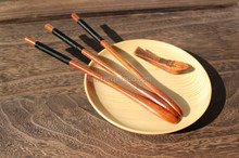 YangJiang Factory manufacture high quality natural wood salad mixing spoon