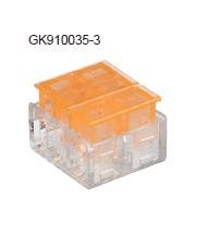 SCREWLESS AUTOMATIC CRYSTAL JOINT TERMINAL BLOCK