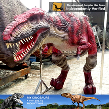 MY Dino-Christmas suit life size velociraptor costume
