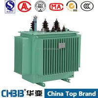 S9-M oil immersed 3 Phase 63kva power transformer of 11kv 400v