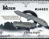 Kizer Knives Model Ki4423 Bearing System Tip-up Carry S35VN Titanium Folder Folding knives