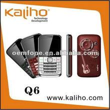 dual sim low price mobile phone Q6 qwerty Paypal