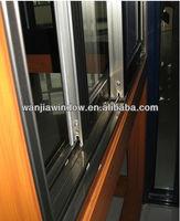 foshan wanjia factory wholesale aluminum profile sliding windows