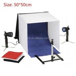 "20"" 50x50cm Foldable Shooting Light Tent"