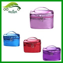 2015 New design lady fancy waterproof leather personalized cosmetic bag