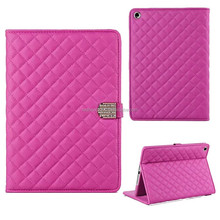 Wholesale Lambskin PU leather universal flip case for ipad 6