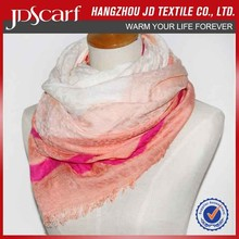 Colourful wool fabric and Italian cashmere scarf wholesale