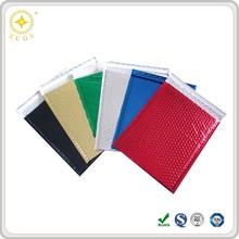 Custom printed Metallic Foil Bubble Padded Envelopes