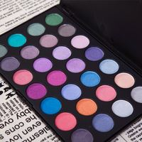 Wedding/Stage/Banquet Profession Makeup 28 Warm Color Shimmer Eye Shadow Cosmetic Palette
