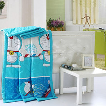 Wholesale new style high quality microfiber printed children summer quilts