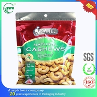 Made in China custom printed plastic dried cashew fruit bag