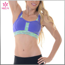 High Quality Sexy Yoga Fitness Clothes Moisture Wicking Sports Bra Women