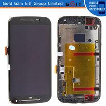 for Motorola for Moto G2 XT1063 XT1064 XT1068 LCD Screen Display + Digitizer Touch, for Moto G2 LCD screen digitizer assembly