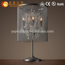 Lampada di ferro battuto, lampada da tavolo lente di ingrandimento, braccio lampada altalena scrivania