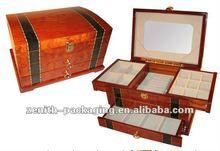 2012 Luxury wooden jewelry box, jewelry case