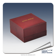 Red wine color High Quality New Popular Design plastic Packaging Box For Jewelry