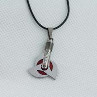 Japan Hot Anime Naruto Series jewelry Kakashi Syaringan Pendant Necklaces N-82