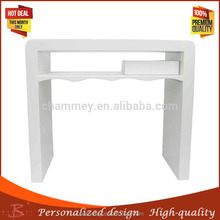 Quality primacy wooden new nail beauty desk for sale/wooden drawing tool nail table