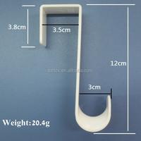 plastic s hooks/plastic coated s hook/s shape plastic hook