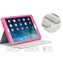 beatiful pu leather stand case for ipad air2