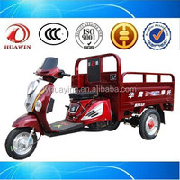 Heavy load power Chinese pedal cargo tricycle