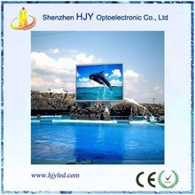 high quality P10 outdoor swimming pool led screen