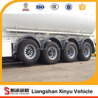 3 Axles 12 Wheeler 42000L 45000L Oil Tank Trailers for Sale in Africa