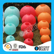 Various Colours and Sizes 36 Inch Round Paper Lanterns