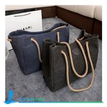 Fashion Women Canvas beach Tote Bag with Custom Logo Design tote handbag