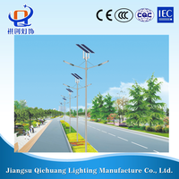 new style high quality low price Lithium bettery solar LED street light led lighting