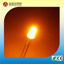 best selling 5mm round Amber led with high brightness