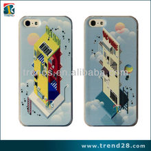 IMD Creative&Lovely House PC crystal case for Iphone 5