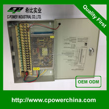 18Channels CCTV Video Power Supplies 20A Power Supply Box