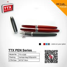1% -10% Big discount!Noble half metal pen with aluminum grip