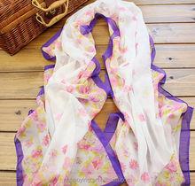 Chiffon silk scarf 2015 scarf female summer all-match scarf long design air conditioning cape