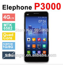 China mtk6592 octa núcleo 1.7 ghz 2g/16g android4.4 4g elephone p3000s
