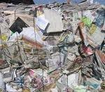 Newspaper waste paper