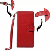 Bulk Buy from China Mobile Phone Case 5.0 Inch Universal Wallet Flip Leather Cover with Card Slots