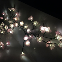 led home decorate light with flower CE ROHS GS certificated and new designed popular led tree light
