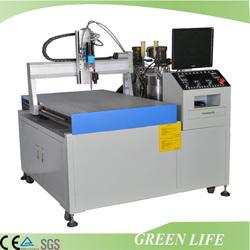 Double-liquid automatic mixing ratio and potting machine /polyurethane potting machine
