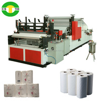 hot sell roll paper hand towel printing machine high speed embossed kitchen roll tissue machine