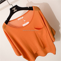 New type top sale fashion style for ladies knitted pullover