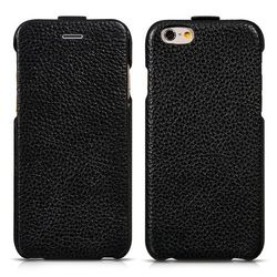 HOCO Genuine Leather Thermoforming Pattern Flip Case for iPhone 6 Plus 5.5