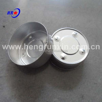 Hight quality aluminum Tealight candle cup for home decoration