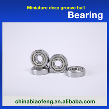 W 604 Bearings 4x12x4 Mm Ball Bearing Stainless Steel Deep Groove Ball Bearing W604