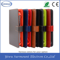 2015 China Supplier Hot Selling New Products Wallet Flip Cover Leather Mobile Phone Case for iPhone 6 iPhone 6 Plus 5.5 6s