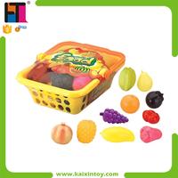 Children Plastic Pretend Play Toy Food Set